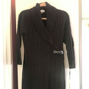 Calvin Klein Cable Knit Dress